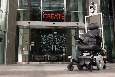 SMART self-driving wheelchair